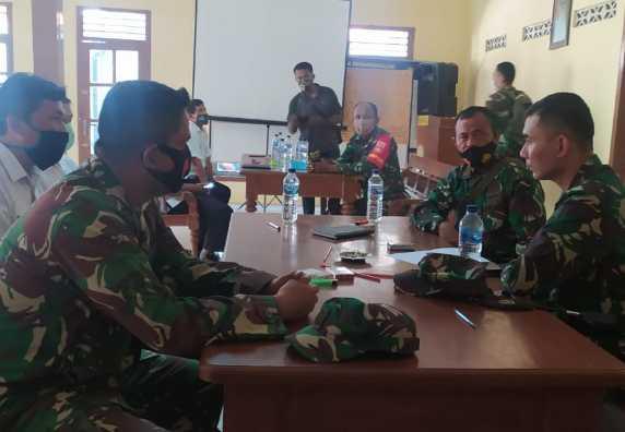 Kunjungan Dandim 0715/Kendal Dalam Rangka Persiapan TMMD